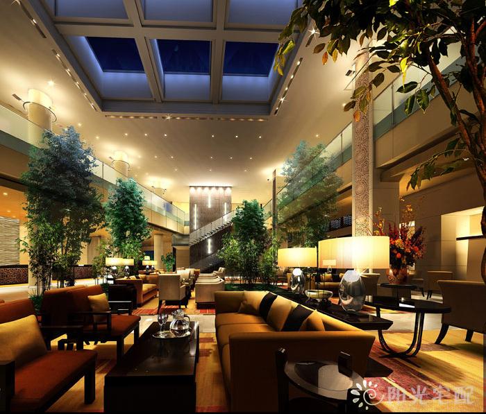 新中式风格的酒店设计-丽思卡尔顿酒店图片