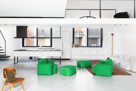 loft风格办公室装修设计案例推荐