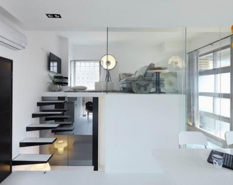 小空间单身公寓设计
